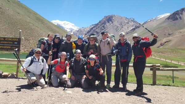 SummitClimb.de Team am Start der Aconcagua Tour