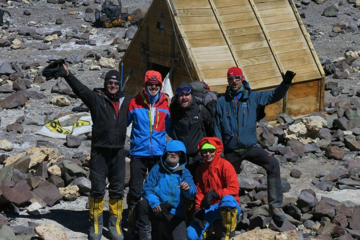 SummitClimb Team im Camp Berlin am Aconcagua | © Aconcagua (c) Julian Beermann