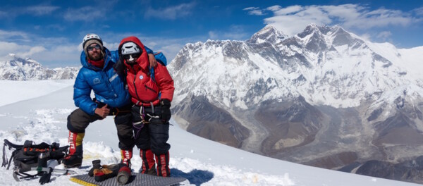 Ama Dablam Summit: Felix & Magdalena, Mount Everest.