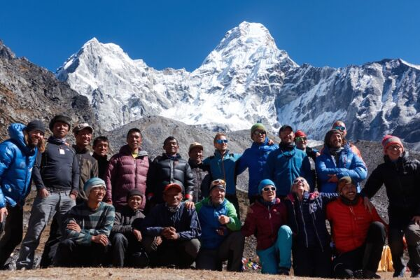 Ama Dablam Expedition – gemeinsame Besteigung