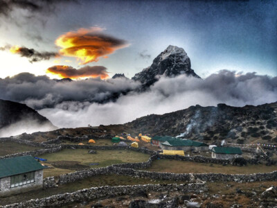 Ama Dablam Base Camp mit Tawoche  | © SummitClimb Nepal