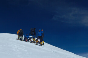 Bergsteiger, Gipfel, Broad Peak Summit 2014 - SummitClimb Broad Peak Expedition (c) Felix Berg
